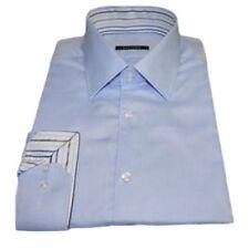 Camicie classiche da uomo blu regolare slim