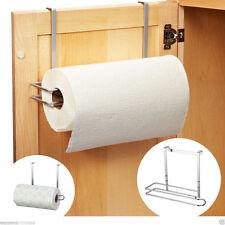 Deluxe Cabinet Door Kitchen Towel Roll 27cm Over Storage Rack Holder (SI-K1013)