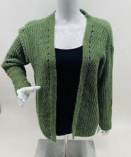 Art Class Girl's Olive Green Open Cardigan Sweater Size XL (14/16) NWT