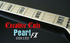 Blocks BLACK PEARL block Fret Markers Vinyl Inlay Sticker for Jazz P OR ANY BASS