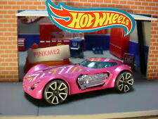 2019 SPEED BLUR design DODGE XP-07 Pink; white TRAP5 LOOSE Hot Wheels