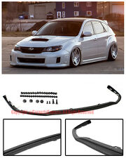 V-LIMITED JDM STYLE Front Bumper Lower Lip Kit For 11-14 Subaru Impreza WRX STi