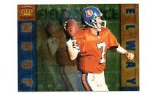 JOHN ELWAY 1996 CROWN ROYALE FIELD FORCE Insert Football Card #8 NMMT Broncos