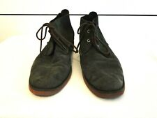 Sperry Top-Sider Suede Chukka Ankle Boots Mens Size 10M Olive Shoes Pre-owned