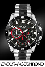 Reloj Cronógrafo Sekonda Endurance Chrono anunciado Caballeros de TV 3420 2 año Guar