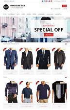 Men's Clothing Store - Custom Amazon Affiliate Website