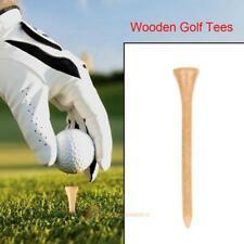 50x 70mm Professional Wooden Golf Tees Golf Ball Nails Outdoor Sport Accessories