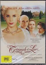 TRIUMPH OF LOVE - MIRA SORVINO - BEN KINGSLEY - FIONA SHAW -  DVD - NEW