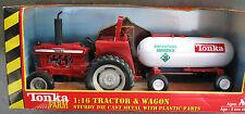 BRAND NEW in BOX NRFB**TONKA FARM **1:16Tractor +Anhydrous Ammonia Wagon DIECAST