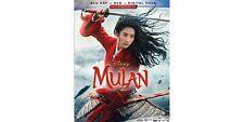 Disney's Mulan (Blu-ray+DVD) Like New - No Digital Copy - Free Shipping