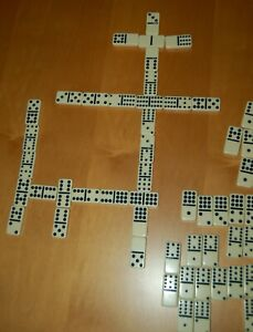 Vintage Set DOUBLE-TWELVE DOMINOES by Cardinal 91 pieces