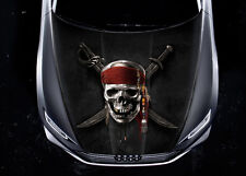 Pirates Of The Caribbean #1 Car Hood Wrap Color Vinyl Sticker Decal Fit Any Car