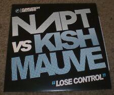 """Lose Control NAPT vs Kish Mauve~2009 UK Import Breakbeat House 12"""" Single~NM"""