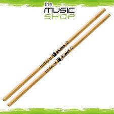 Set of Promark Shira Kashi Oak RK Rock Knocker Drumsticks - Butt Wood - PWRKW
