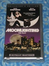 Brand New Sealed Moonlighting The Pilot Collector VHS Video Tape