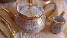 Vintage Bavaria Schirnding Tea Set for 6