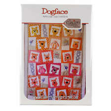 Dogface Applique Quilt Pattern by Claire Turpin Design Quilting Sewing Craft DIY