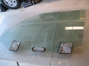 BMW E24 LH Euro Glass Window OEM 1977 630CSi 633CSi