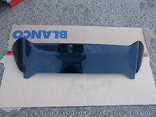 HONDA CIVIC MK7 3DR HATCHBACK MODELS 2001-2005 COMPLETE BLACK REAR LIP SPOILER