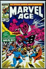 Marvel Comics MARVEL AGE #64 Evolutionary War NM 9.4