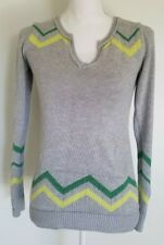 GAP Womans Gray Pull Over Sweater Jumper Size XS, Sleeve Thumb Hole