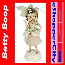 "Betty Boop 12"" Ballerina  Win up Mechanical Music Doll Limited Box Resin Figure"