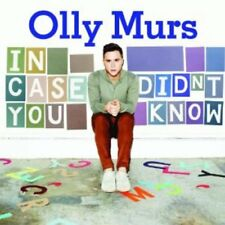 OLLY MURS ( NEW SEALED CD ) IN CASE YOU DIDN'T KNOW ( HEART SKIPS A BEAT )