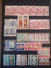 H889. Lot timbres neufs mnh. sovrano militare ordine di Malta