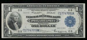 "SC 1918 $1 FRBN Philadelphia ""Spread eagle"""
