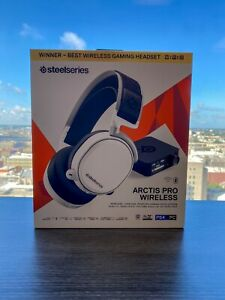 SteelSeries Arctis Pro 61474 Wireless Gaming Lossless Wireless Headset - White