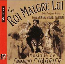 Emmanuel CHABRIER / Le Roi Malgres Lui / (2 CD) / Neuf