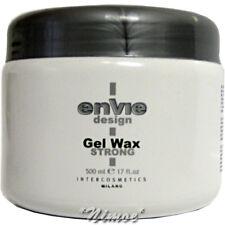 Gel Wax Strong 500ml Envie Design ®Modellante Hold & Shine Effect Intercosmetics