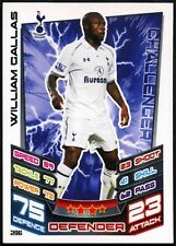 William Gallas #296 Topps Match Attax Football 2012-13 Trade Card (C440)