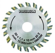 Tungsten Tipped 20 Teeth Saw for Proxxon KS 230 Saw 702075 (Ref: 28017)