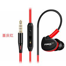 Durable Fonge S500 In Ear Metal Bullet Earphones Headphones HIFI Sport Headset