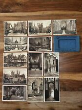 Glencoe Series antique postcards CHESTER Unposted - full set - pristine.