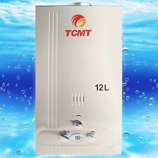 12L Natural Gas Tankless Hot Water Heater 3.2GPM Instant Home Bathroom Boiler