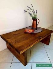 Rustic Chunky Handmade Solid Pine Wood Coffee Table/Side Table/Special Offer!!!