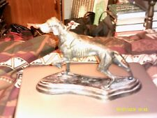 BRONZE hunting dog 12x8 inch India in perfect condition