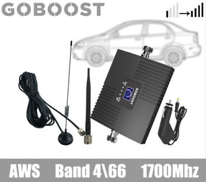 Goboost 4G LTE 1700mhz Band4 Phone Signal Booster for Car Truck RV repeater
