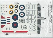 HURRICANE MK.I/II 1/48 scale decals