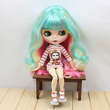 """12"""" Neo Blythe Doll  Joint Body Nix Hair Nude Doll from Factory JSW99004"""