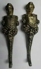 Antique Bronze Cast Cherubs Hardware Legs Set of 2