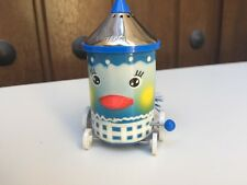 Wind Up French Pylone Blue Bird Salt Shaker WORKS Rolling