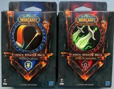 World of Warcraft TCG 2 Starter WoW Kartenspiel Horde & Allianz Deck Hearthstone