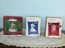 Hallmark Keepsake BARBIE Ornaments Celebration BARBIE & Fairytopia  Lot of 3 NIB