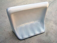 "Ceramic Shower Tub Wall Mount Soap Dish Tray Gloss White 6 1/2"" x 4 3/4"""
