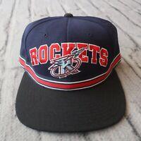 Vintage New Houston Rockets Strapback Hat by Starter Cap 90s