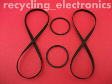 SONY MHC-4700, MHC4700 Drive Belt Kit For Cassette Deck (4 Belts)
