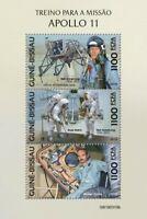 Guinea-Bissau - 2019 Apollo 11 Anniversary - 3 Stamp Sheet - GB190310b